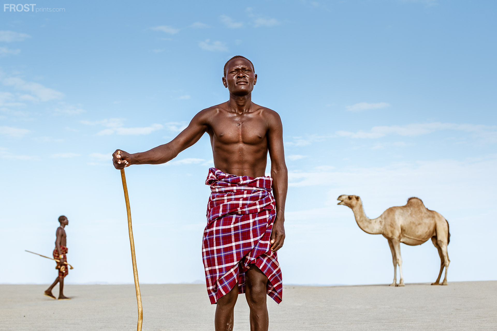African Photography Print