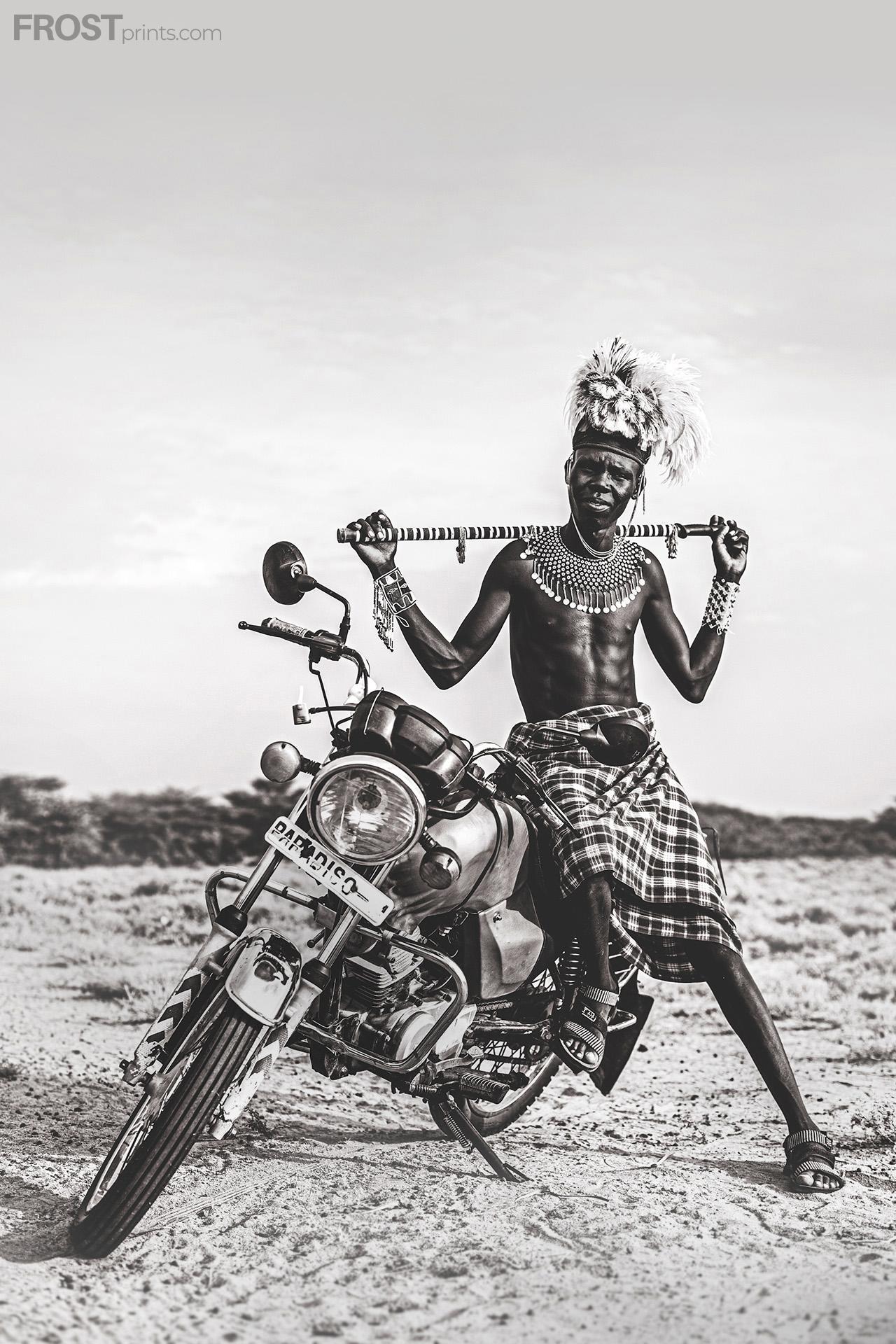 Africa Culture Print Art